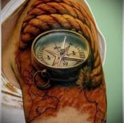 что значит тату компас 1