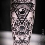 что значит тату с глазом в треугольнике - фото