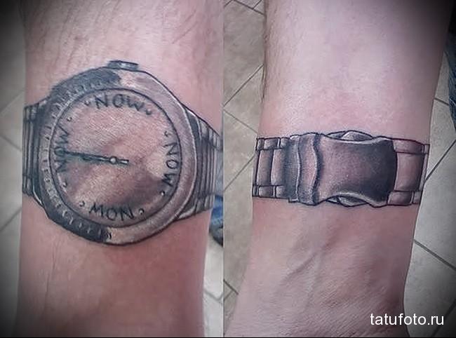 Значение татуировки часы 5