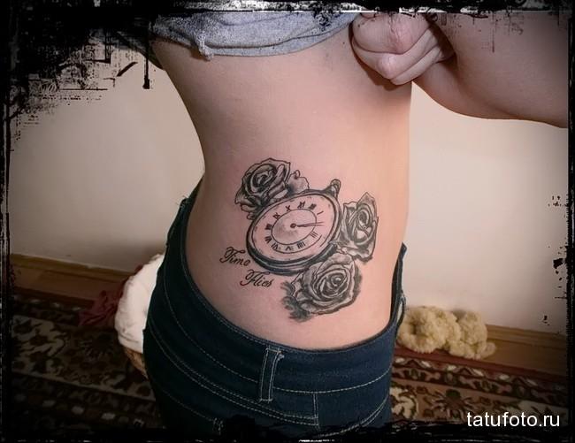 Значение татуировки часы 7