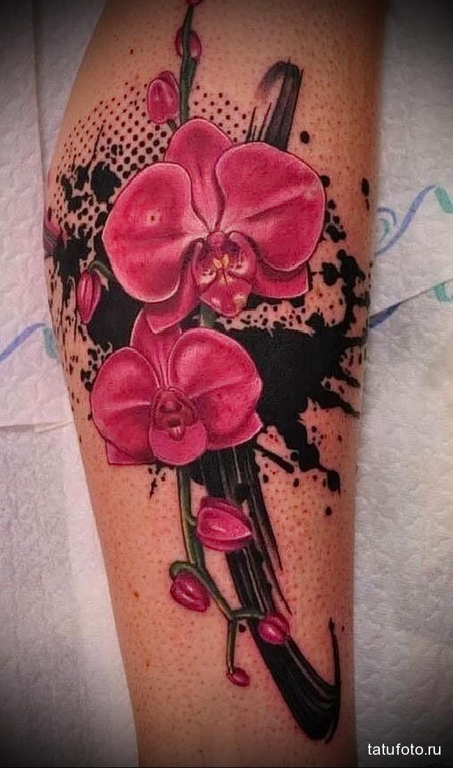 Значение тату орхидея 11