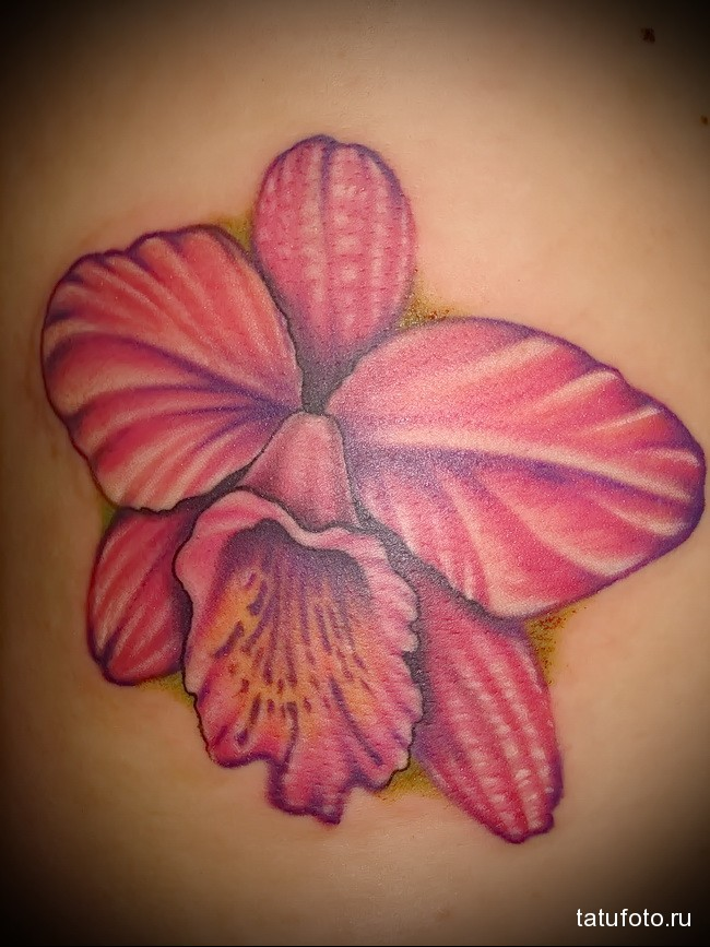 Значение тату орхидея 4