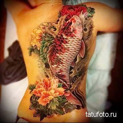 Значение тату рыба 677746