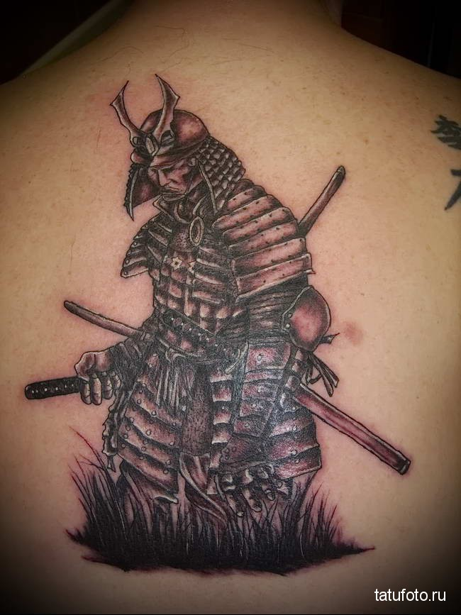 Значение тату самурай 123123123