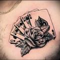 значение татуировки карты на фото