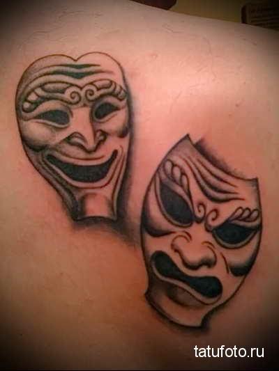 маски тату фото 3454545345