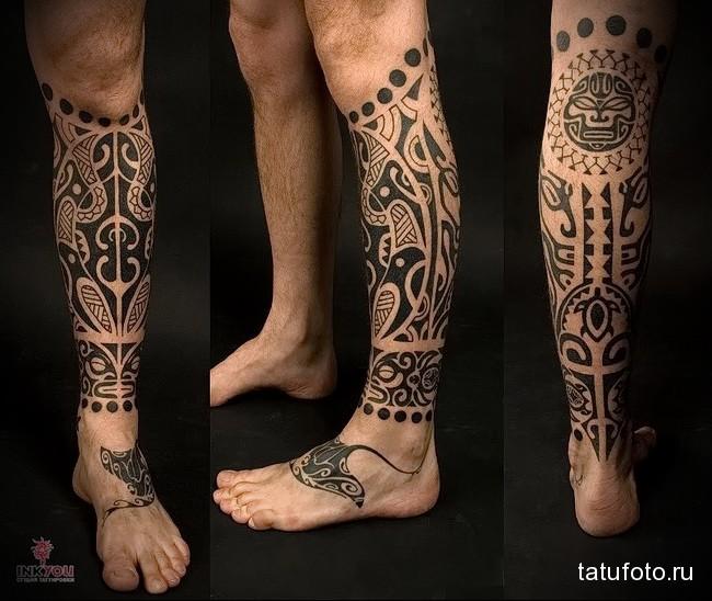 тату «Полинезия» 5