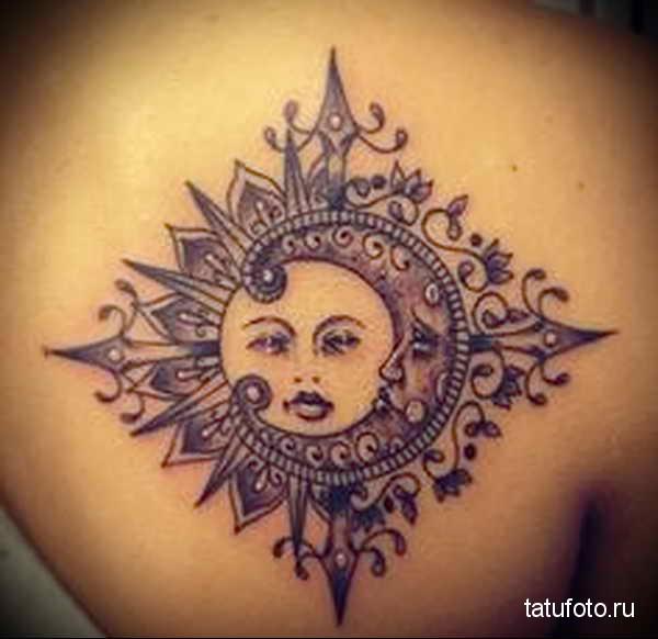что значит солнце в татуировке на теле