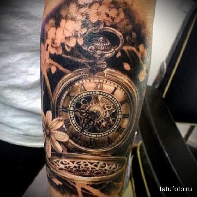 что значит татуировка часы