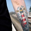 tattoo lighthouse