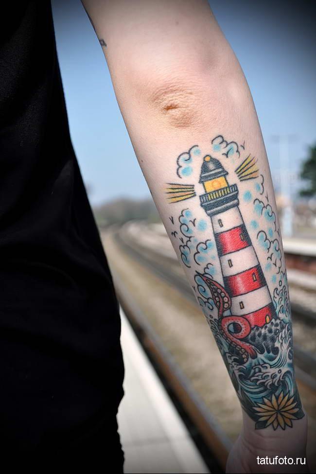 tattoo lighthouse