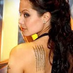 tattoos of Angelina Jolie 123123