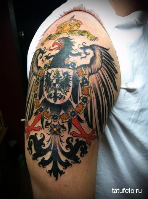 немецкий орел тату 3