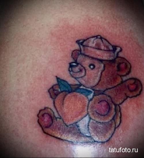 тату вдв медведь 1