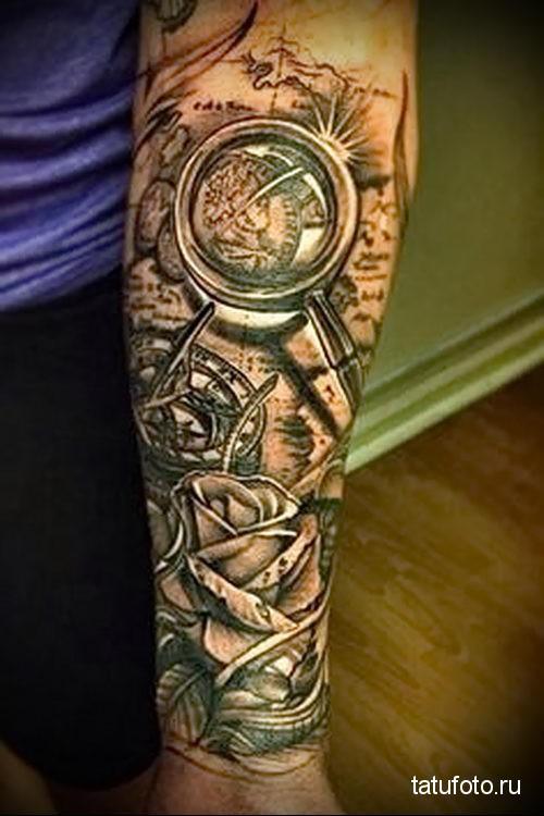 3D татуировки фото