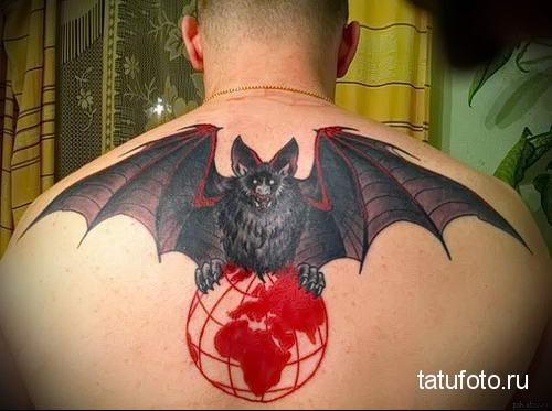 Татуировка разведки летучая мышь фото