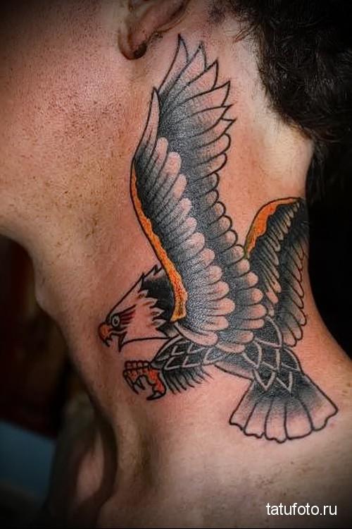 что означает перо орла на шее фото этом