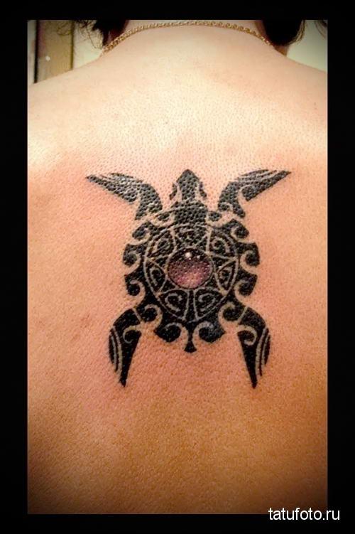 Тату черепаха значение для мужчин