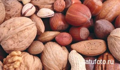 Орехи и семечки для похудения