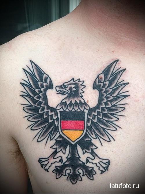 немецкий орел тату 1