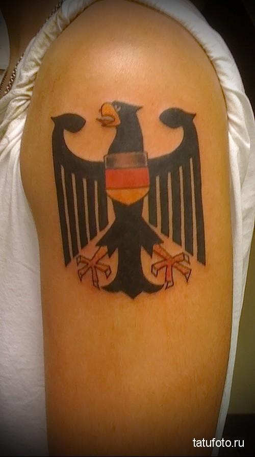 немецкий орел тату 4