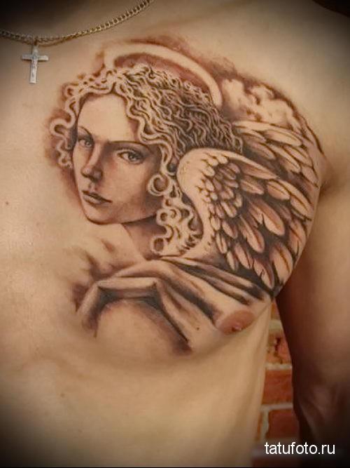 тату ангел хранитель 5