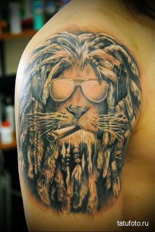 тату гороскопа лев