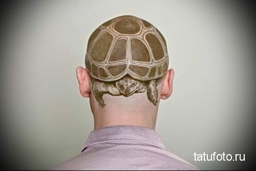 тату морская черепаха 32