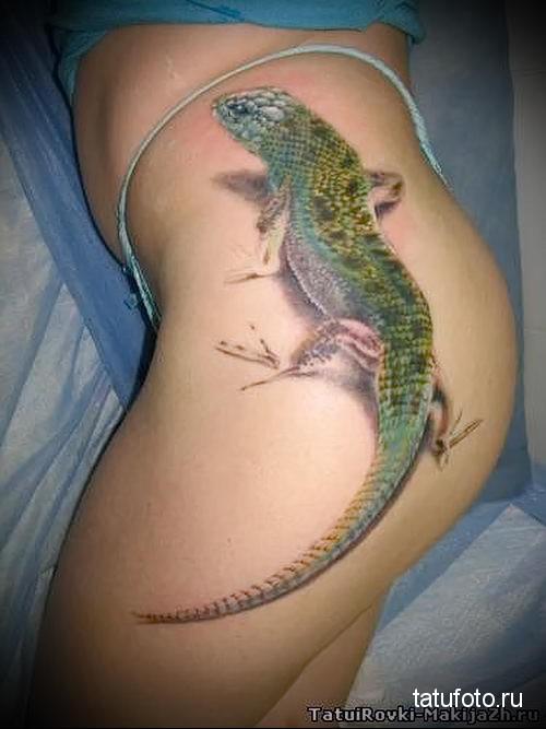 тату на попе - женские ягодицы как место для татуировки - фото 26