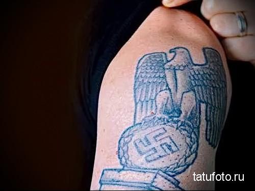 фашистский орел тату 2