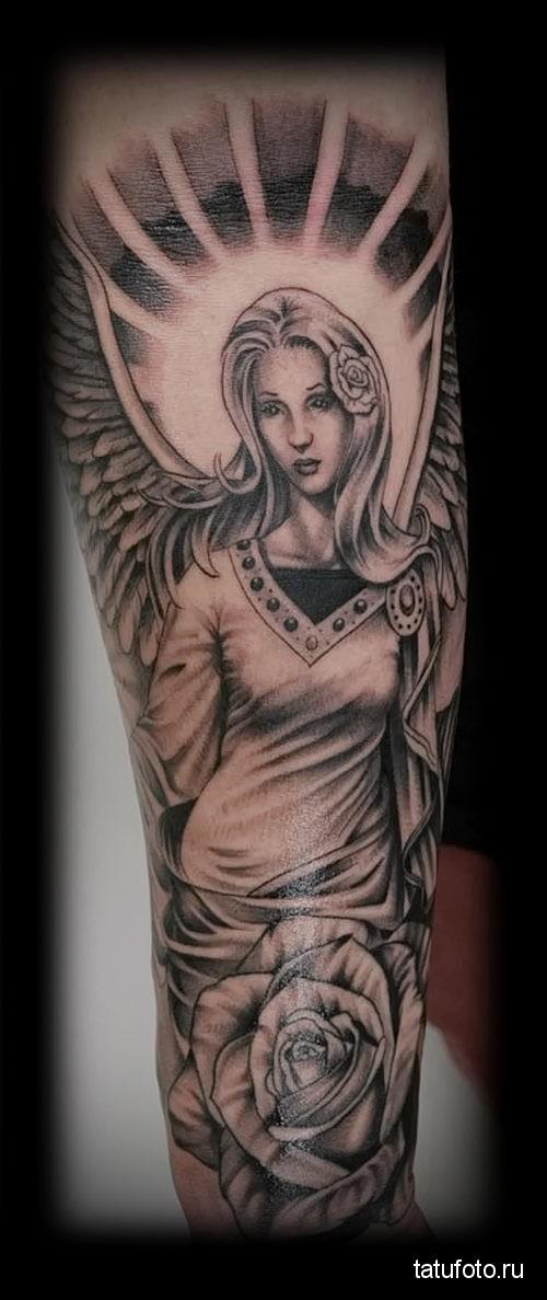 Chicano Tattoo Angel 1