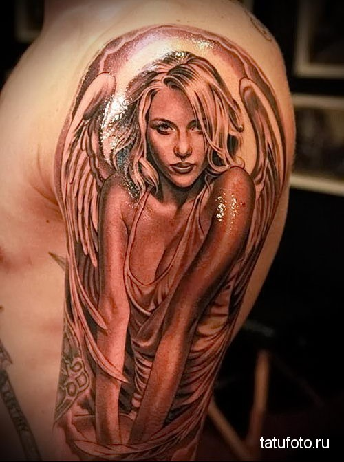 Chicano Tattoo Angel 3