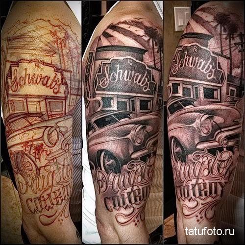 Chicano Tattoo sleeve 2