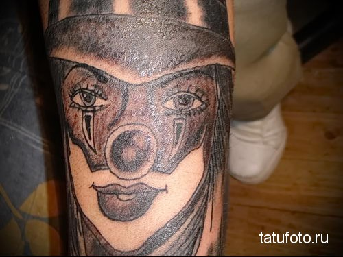 Chicano style tattoo on the forearm 2