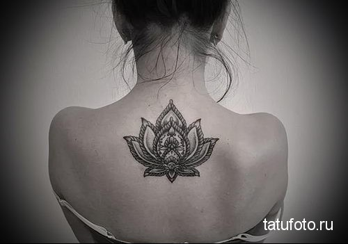 Mandala lotus tattoo 1