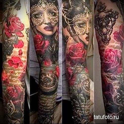 Tattoo Sleeves Chicano photo 1
