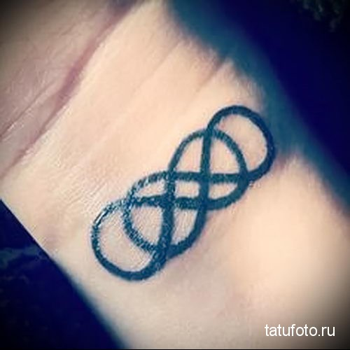 double infinity tattoo 2