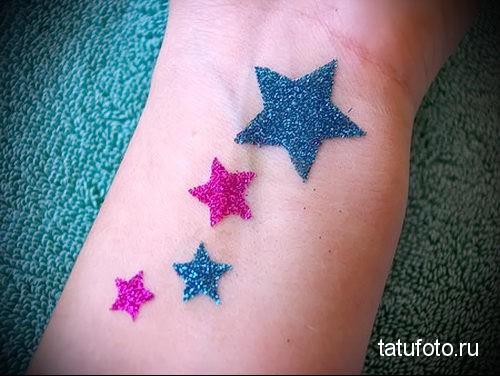 glitter tattoo 6