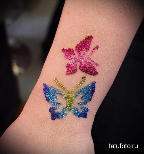 glitter tattoo 7