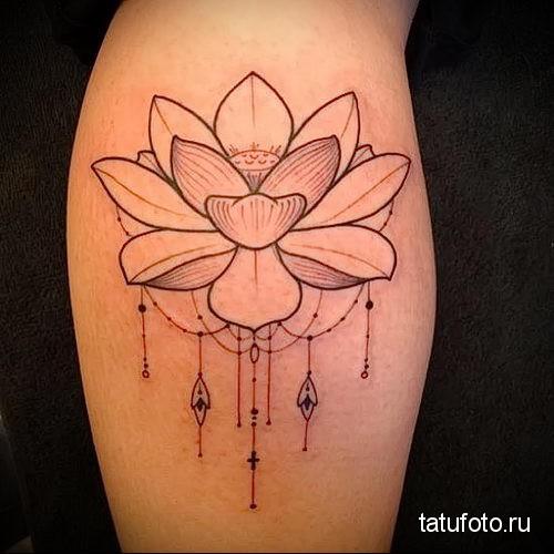 lotus tattoo 4