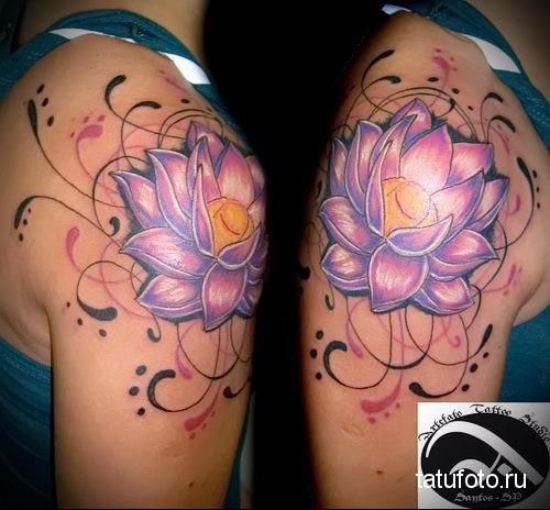 lotus tattoo 7