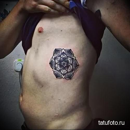 mandala tattoo dotvork 1