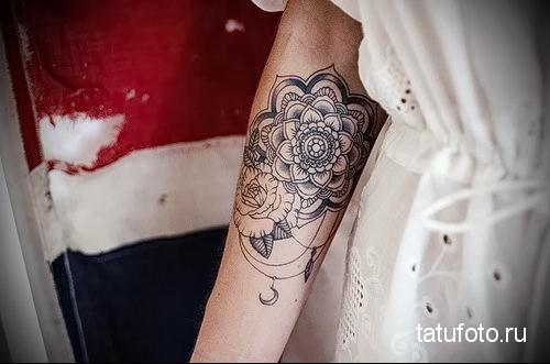 mandala tattoo dotvork 2