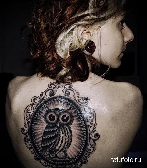 owl tattoo for girls 1