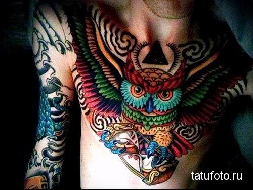 owl tattoo photo 1