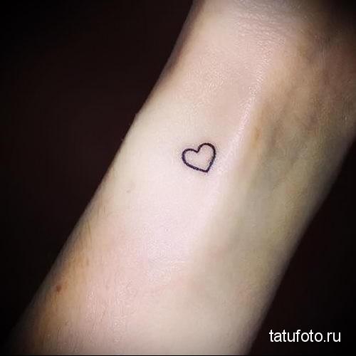 small heart tattoo 1