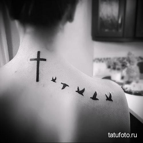 small tattoo swallows 3
