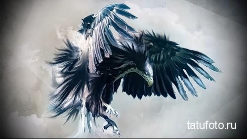 tattoo eagle in flight 1