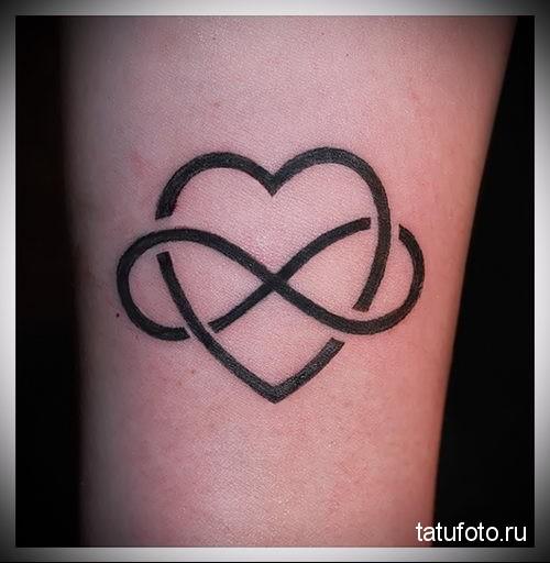 tattoo heart and infinity 2