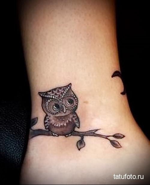 tattoo little owl 3
